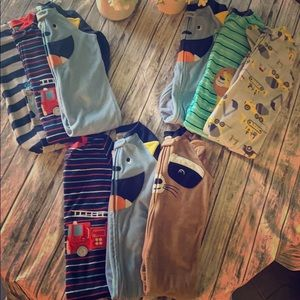 Toddler 3t Footed Pajama Packs
